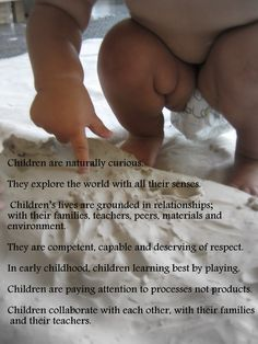 Image of the Child (Reggio Emilia) Play Based Learning, Learning Through Play, Early Learning, Kids Learning, Learning Stories, Reggio Emilia Classroom, Reggio Inspired Classrooms, Early Childhood Quotes, Early Childhood Education