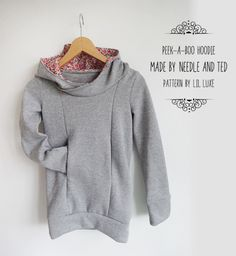 peekaboo hoodie by Lil Luxe Collection