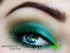 """Fuji Moss"" by Inka2504 using the Makeup Geek eyeshadows Fuji and Chickadee.  For more ideas visit www.makeupgeek.com"