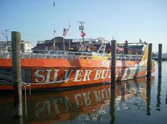 The Silver Bullet boat/We love this ocean ride in Wildwood.