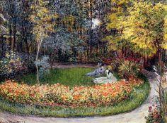 Claude Monet - Dans le jardin