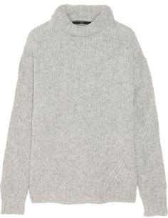 Tibi Bubble Knitted Turtleneck Sweater