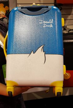New Donald Duck American Tourister Luggage Available Post D23 Expo Reveal