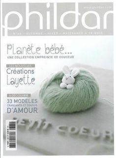 Phildar tricot layette bébé en français Tricot Phildar, Snood Tricot,  Modele Tricot Layette, 1879b729f87
