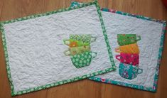 Quilting in Amsterdam: Stacking cups, a tutorial and free pattern