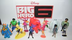 Disney Big Hero 6 Figure Set Toy Playset Of 12 With Hiro Baymax Fred Wasabi Tomago Honey And Special Temporary Tattoo Sheet Upcoming Disney Movies, Hero 6 Movie, Big Hero 6 Baymax, Hiro Hamada, Temporary Tattoos, Kids And Parenting, Good Movies, Action Figures, Toys