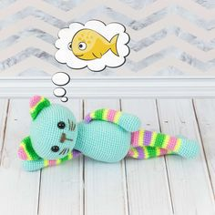 Get your crochet hook ready for this easy Stripy Cat Amigurumi Pattern designed especially for beginners! The stripy cat amigurumi is a perfect addition to any child's toy collection or nursery decor. It's great to explore colors and textures and to play with.