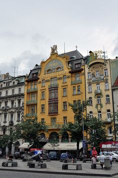Hotel Evropa - Prague, Czech Republic