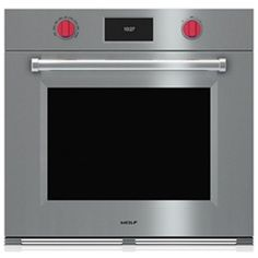 Wolf WSO30PMSPH M Series Single Electric Wall Oven - Stainless Steel