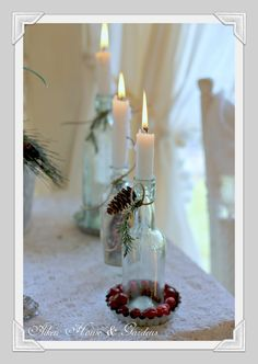 make these for a women's ministry Christmas event centerpiece
