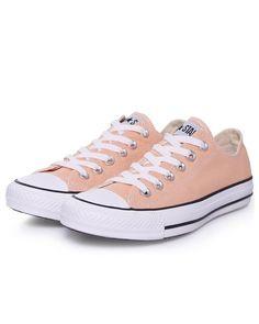 0f9b9cb2242c Converse All star Women s Peach Canvas New Shoes Trainers Size 10  Converse   RunningCrossTraining Running