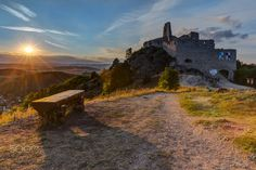 Before sunset at Bathory castle Before Sunset, Medieval Castle, My Photos, Waiting, Country Roads, Facebook, Instagram