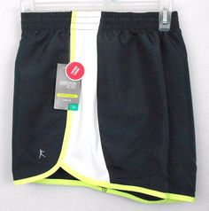 Danskin NOW Performance Shorts Multi Color Size XXL Loose Fit Active Running  #DanskinNOW #Shorts - These womens polyester performance shorts feature an inner liner, mesh detail, and loose fit styling.  They  would be great for runnning or other activewear use.