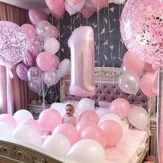Balloon Dreams Come True Ft Bianca Simple Birthday Decorations