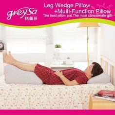 Greysa Leg Wedge Pillow Backrest Lumbar Support Leg Lift Maternity Pillow   eBay