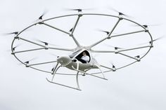 Volocopter 18-Rotor Copter Is A Human-Sized Drone That Carries People - #drone #flying