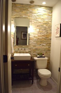 A DIY Half Bath Transformation for $1,000 powder-room