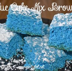Blue Cake Mix Brownies FI2