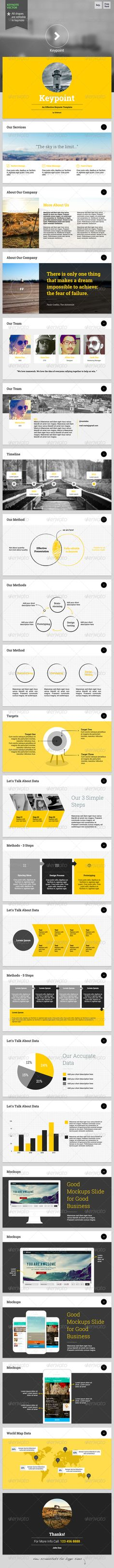 Keypoint - Keynote Template — Keynote KEY #modern #pitch • Available here → https://graphicriver.net/item/keypoint-keynote-template/6423267?ref=pxcr