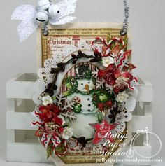 Joy to the World Tag Ornament 1