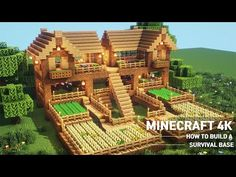 Minecraft Building Blueprints, Minecraft House Plans, Minecraft Cottage, Cute Minecraft Houses, Minecraft Houses Survival, Minecraft House Tutorials, Minecraft Room, Minecraft House Designs, Minecraft Tutorial