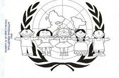 MAESTRA ERIKA VALECILLO: IMAGENES DIA DE LAS NACIONES UNIDAS Trophy Truck, English Activities, First Grade, Safari, Preschool, Education, Disney Characters, Projects, Arduino