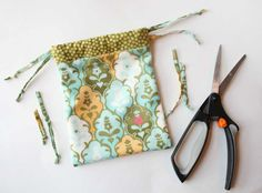 Tuesday Tutorial: Drawstring Bag - One of the most practical bags you can make.