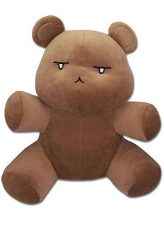 From the popular anime series Ouran High School Host Club comes this new series of collectible plush! This 15 inch plush depicts Kuma-chan Bear, Tamaki Suoh's stuffed bear! Officially licensed.
