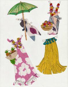 (⑅ ॣ•͈ᴗ•͈ ॣ)♡                                                            ✄Paper Doll The Paper Collector: January 2014