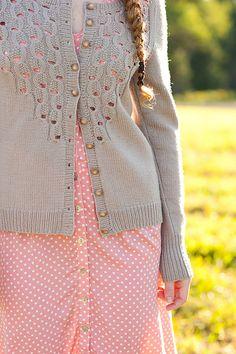 Ravelry: Effervescence Cardigan pattern by Olga Buraya-Kefelian - Quince & Co.