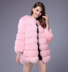PINK PROMISES WINTER FUR via ELTRADA COUTURE. Click on the image to see more!