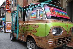 A RETRO Photo Booth Bus