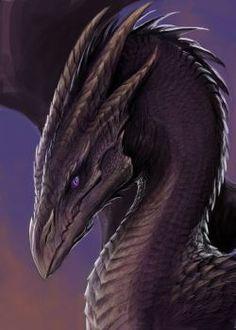 purple dragon by TatianaMakeeva