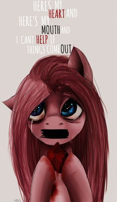 Here's my heart and heres my mouth. by MissPolycysticOvary on DeviantArt