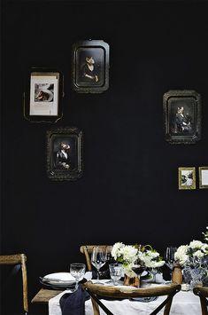 Cool Black Walls