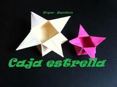Origami - Papiroflexia. Tutorial: Caja estrella