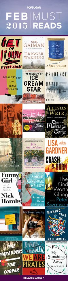 February 2015 Must Reads — the best new books coming out this month!