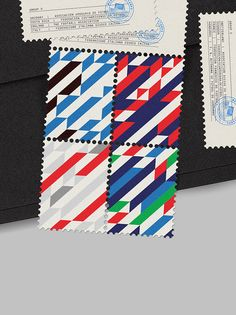 Love this project – World Cup stamps by MAAN Design Studio.