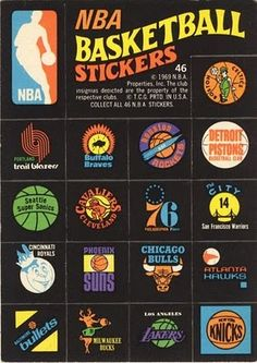 Cool NBA stickers