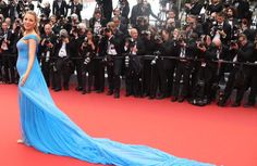 Blake Lively has been making the red carpet rounds at Cannes Film Festival 2016, and basically has murdered everyone else's red carpet game. Whoever her stylist is will be busy very soon...  Whether or not Blake is a great actress, is a whole other conversation, but at least she's winni