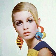 Twiggy. 1960s.