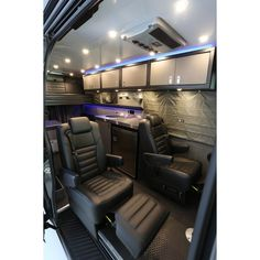 """RB Demo Adventure Van - 170"""" EX 2x4 - Includes Two Additional Leather Sprinter Seats, Galley w/ Sink and Refrigerator,"""