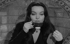 Discover & share this Morticia Addams GIF with everyone you know. GIPHY is how you search, share, discover, and create GIFs. The Addams Family Cast, Addams Family Wednesday, Addams Family Values, Gomez And Morticia, Morticia Addams, Long Straight Black Hair, Charles Addams, Carolyn Jones, Gifs