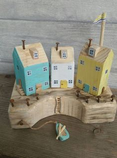 Reclaimed Wood Driftwood Cottages Little Wooden Houses Village
