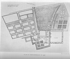 Fontainebleau: Plan of buildings and gardens