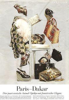 is inspired by Dior Paris-Dakar