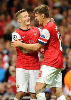 Wilshere and Ramsey
