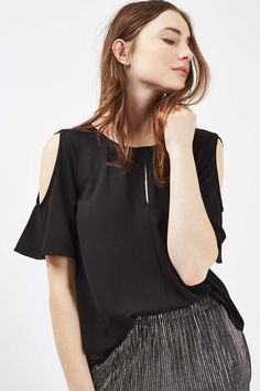 Keyhole Cold Shoulder Top - New In This Week - New In - Topshop Europe