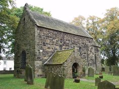 The Saxon church at Escomb is built mostly from stones taken from the Roman fort at nearby Binchester.