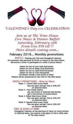 Valentine's Eve Celebration